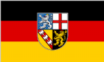 Saarland Large State Flag 5' x 3'